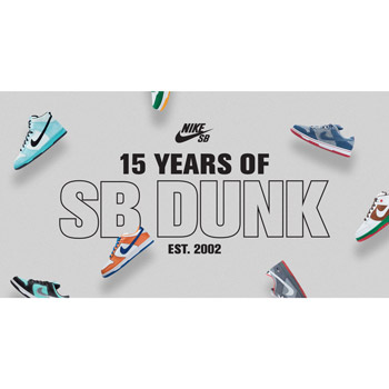 15 Years of Dunk SB