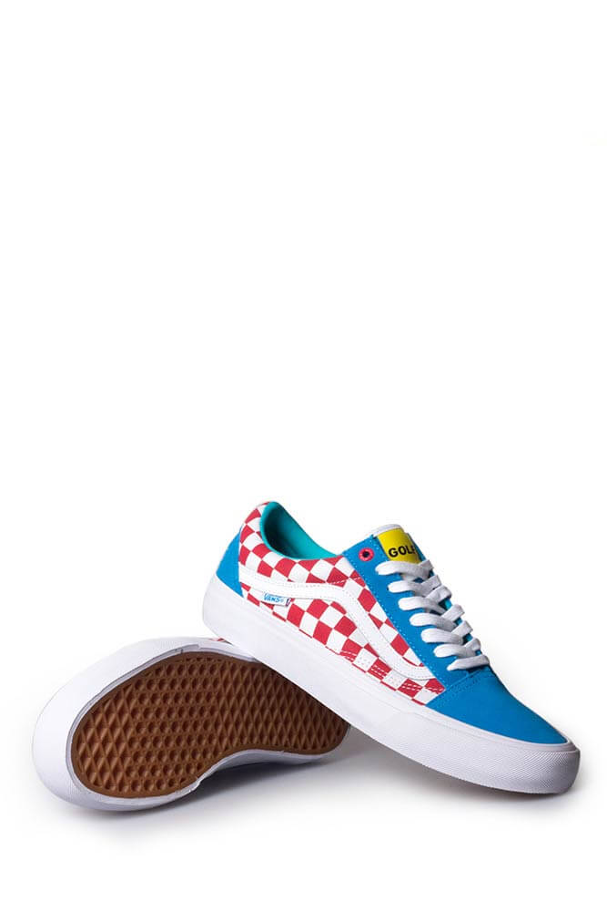 126a7362b1e4 Vans Syndicate x Golf Wang Old Skool Blue Red White - Bonkers