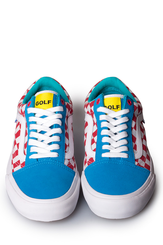 fc8e3c26e9de Vans Syndicate x Golf Wang Old Skool Blue Red White - Bonkers