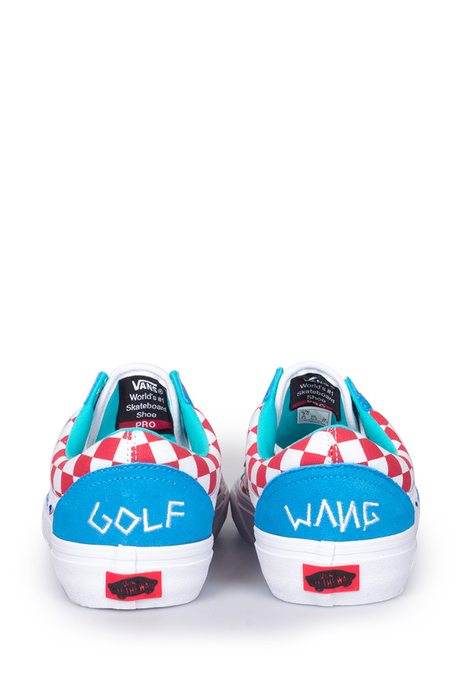 80737763f07a3b Vans Syndicate x Golf Wang Old Skool Blue Red White - Bonkers