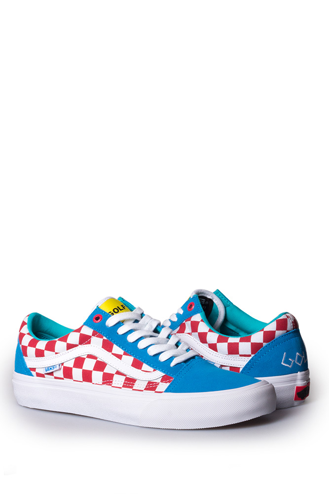 Vans Syndicate X Golf Wang Old Skool Blue Red White