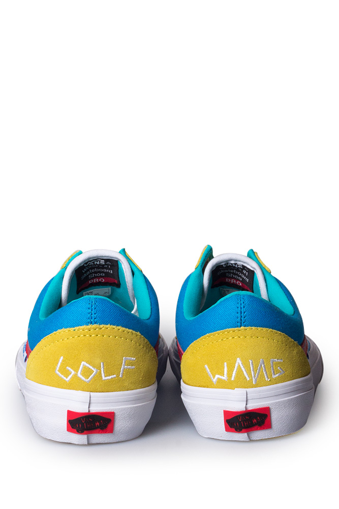 a6a1e1862752 Vans Syndicate x Golf Wang Old Skool Yellow Blue Red - Bonkers