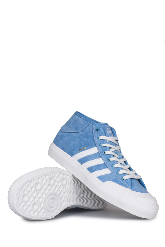 ... Editions»Adidas Matchcourt Mid (MJ) Shoe Light Blue White Gold. Previous e064c277c
