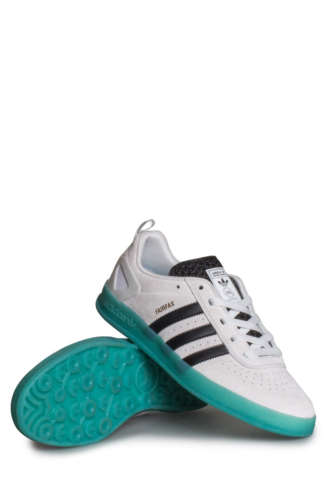 0640d33747 ... Editions»Adidas Palace Pro (Benny Fairfax) Shoe Crystal  White Black Cyan. Previous