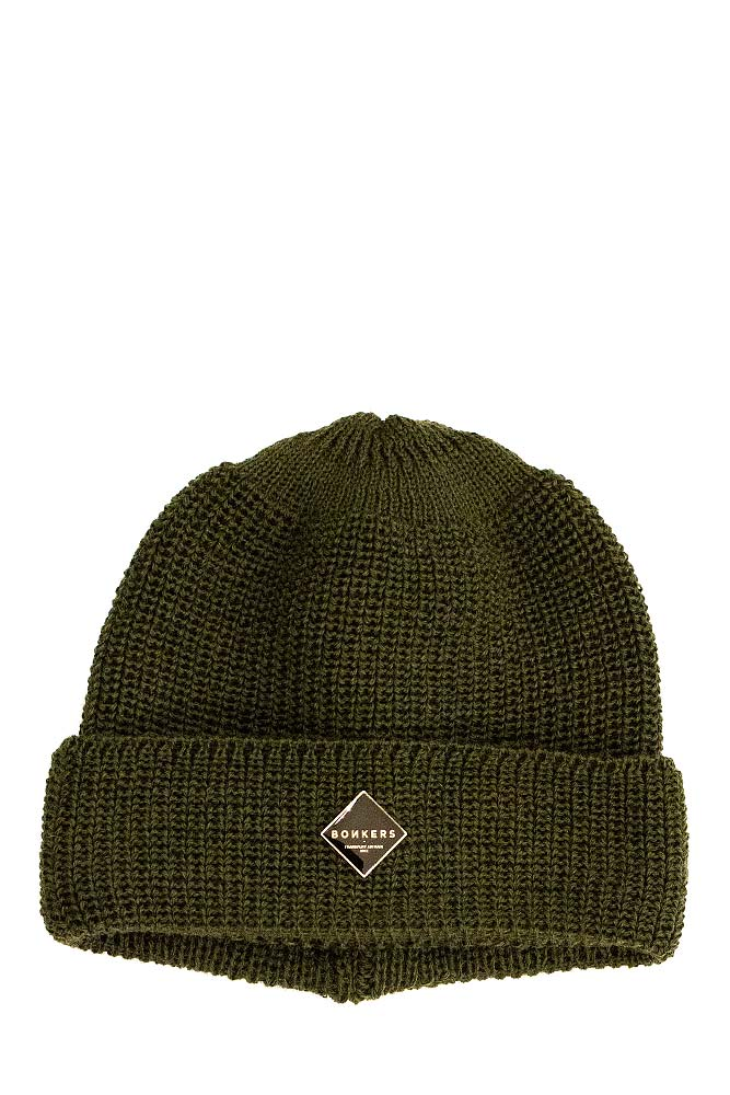 bonkers-pure-wool-beanie-olive-silver-01