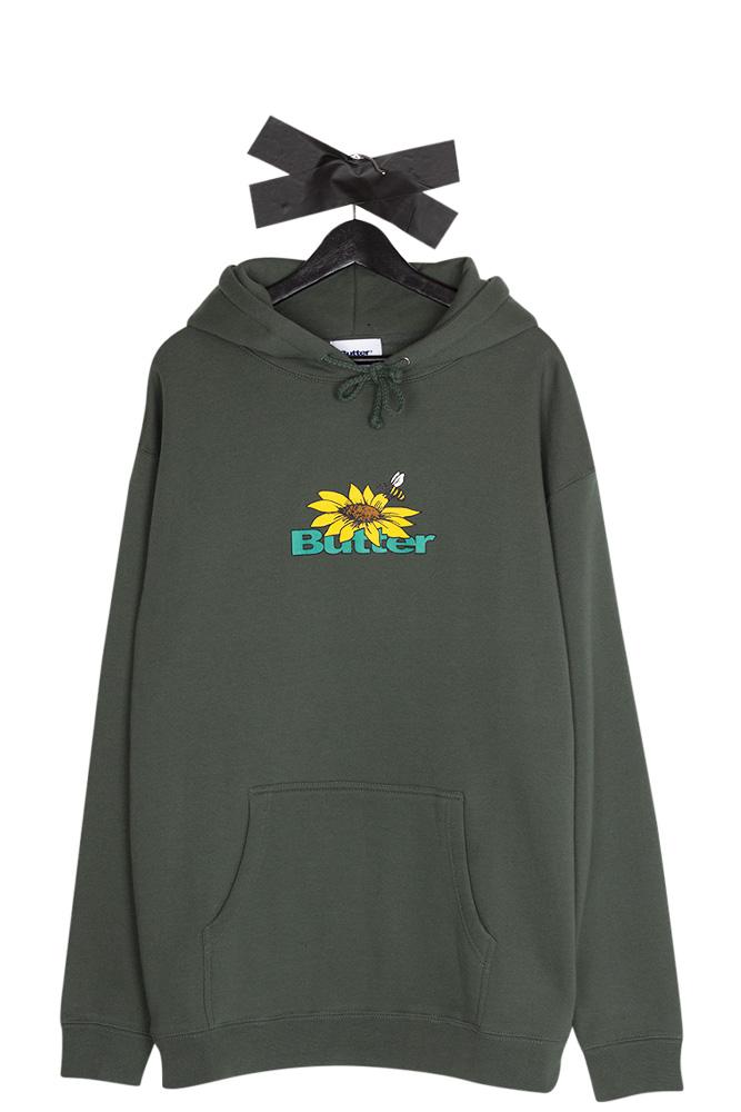 butter-goods-sunflower-logo-hooded-pullover-forest-green-01