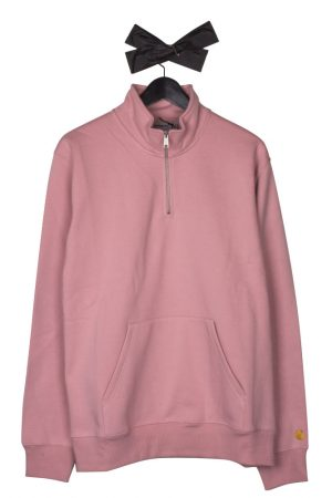 carhartt-wip-chase-neck-zip-sweatshirt-soft-rose-gold-01