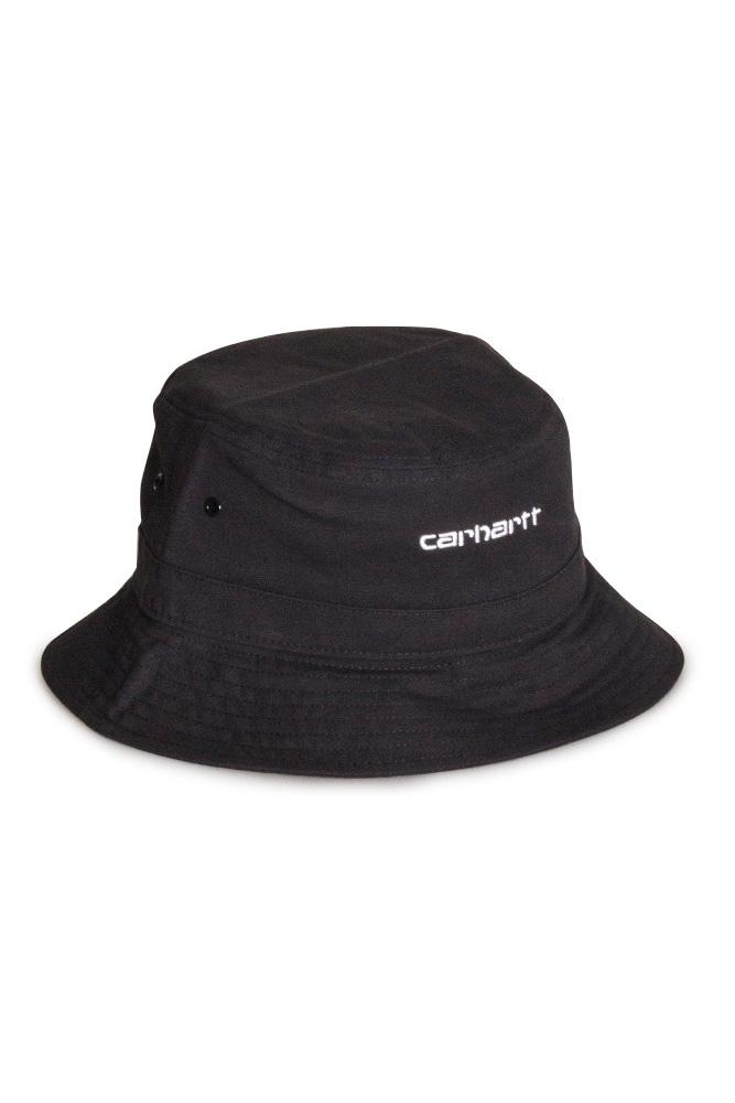 carhartt-wip-script-bucket-hat-schwarz-weiss-1