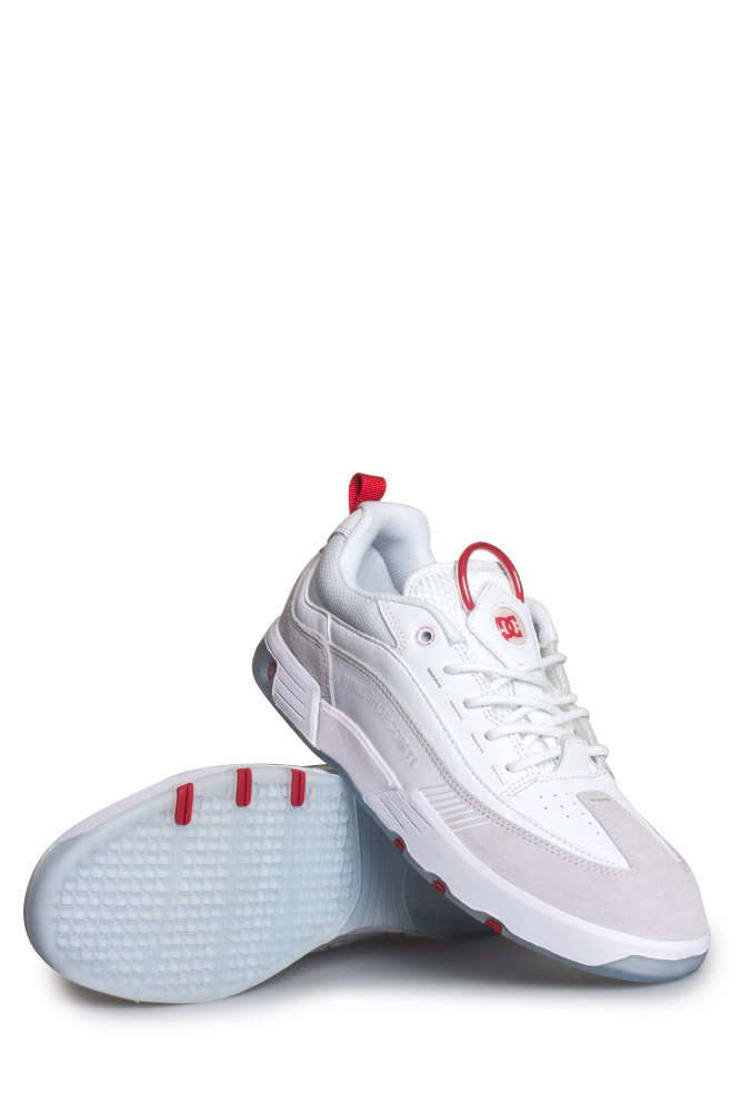 da5000eee7d Dc Shoes X Dime Mtl Legacy S Shoe White Red Bonkers