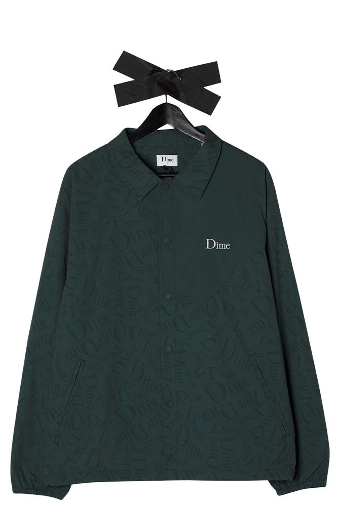 dime-mtl-allover-coach-jacket-dark-green-01