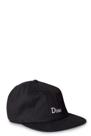 75797e96ce675 Dime Classic 6 Panel Cap Black