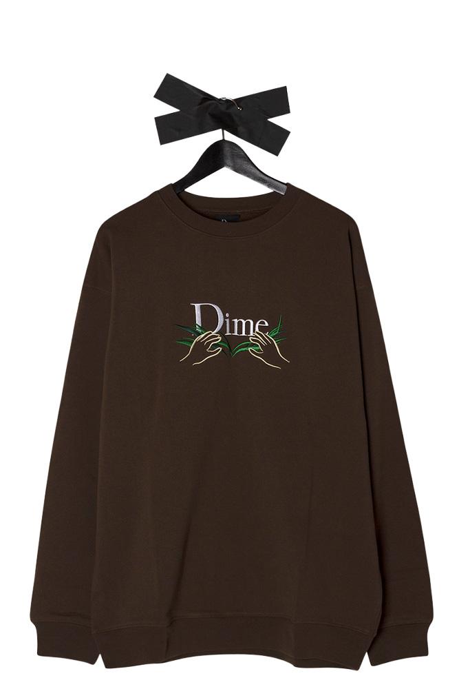 dime-mtl-grass-crewneck-stray-brown-01