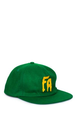 fucking-awesome-classic-logo-wool-snapback-green-cap-01