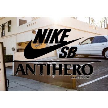 THE NEW NIKE SB X ANTI HERO QUICKSTRIKE