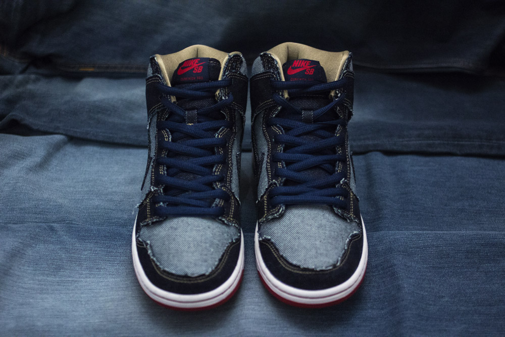 """uk availability 48fe3 f978f You can buy the Nike SB Dunk High OG """"Reese Denim"""" from February 23 both  online and at our store in Frankfurt."""
