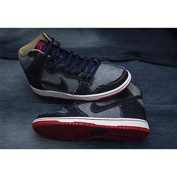 "outlet store 370f4 31957 Nike SB Dunk High OG ""Reese Denim"""