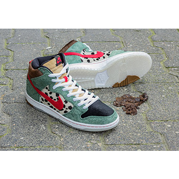 new arrival b6195 6db38 Nike SB 420 Dog Walker OG Dunk High