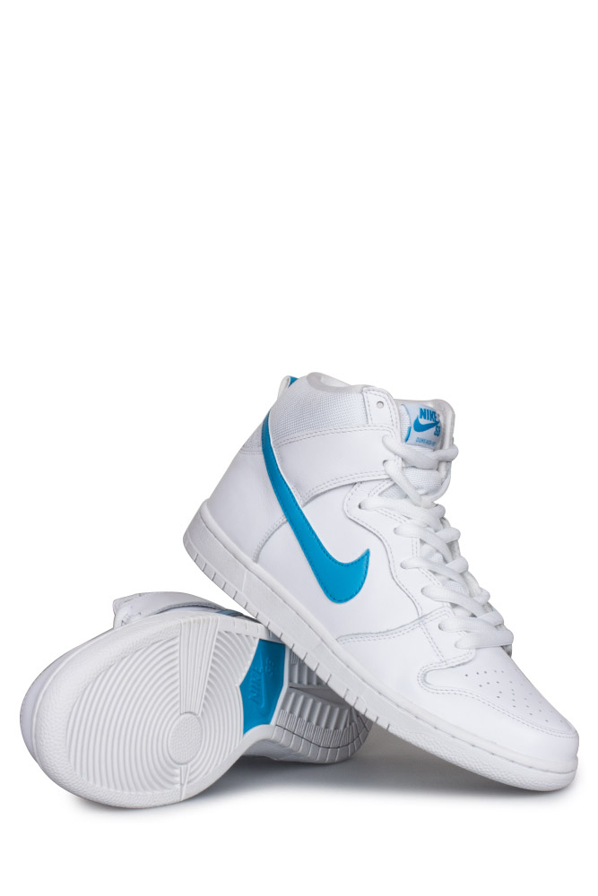 best sneakers 75f73 f6ff8 Nike SB Dunk High TRD QS (Mulder) Shoe White/Orion Blue ...