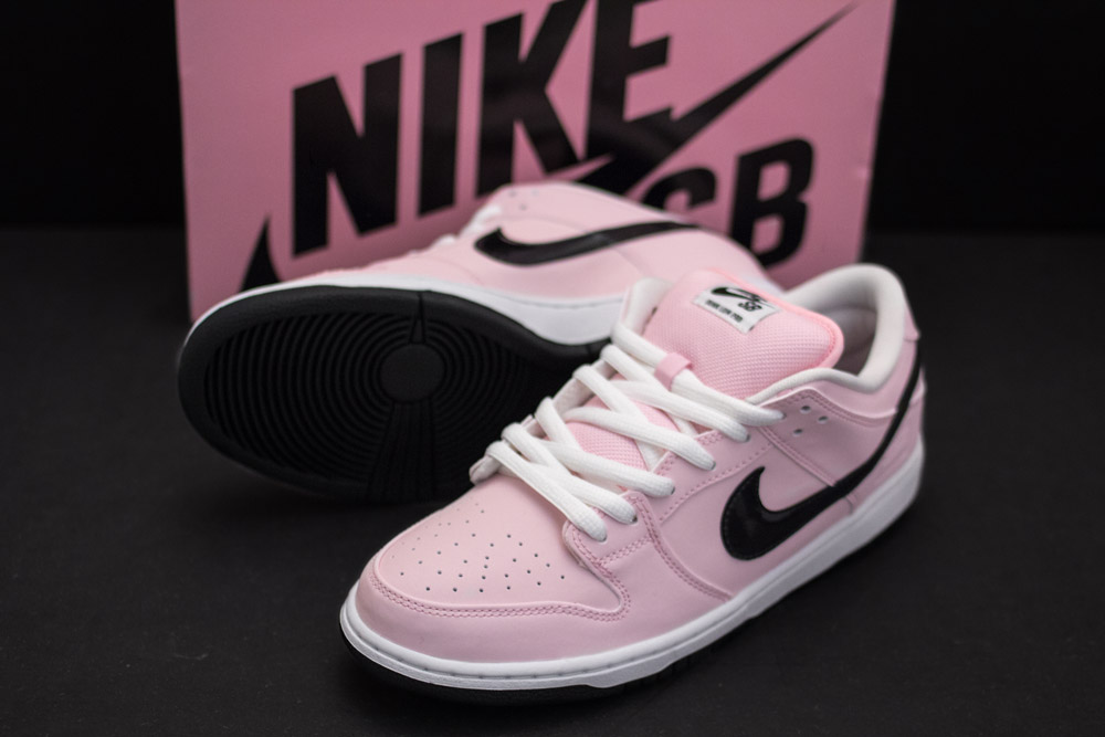 """nueva lanzamiento colores armoniosos hermoso estilo Nike SB Dunk Low Elite """"Pink Box"""" - Bonkers"""