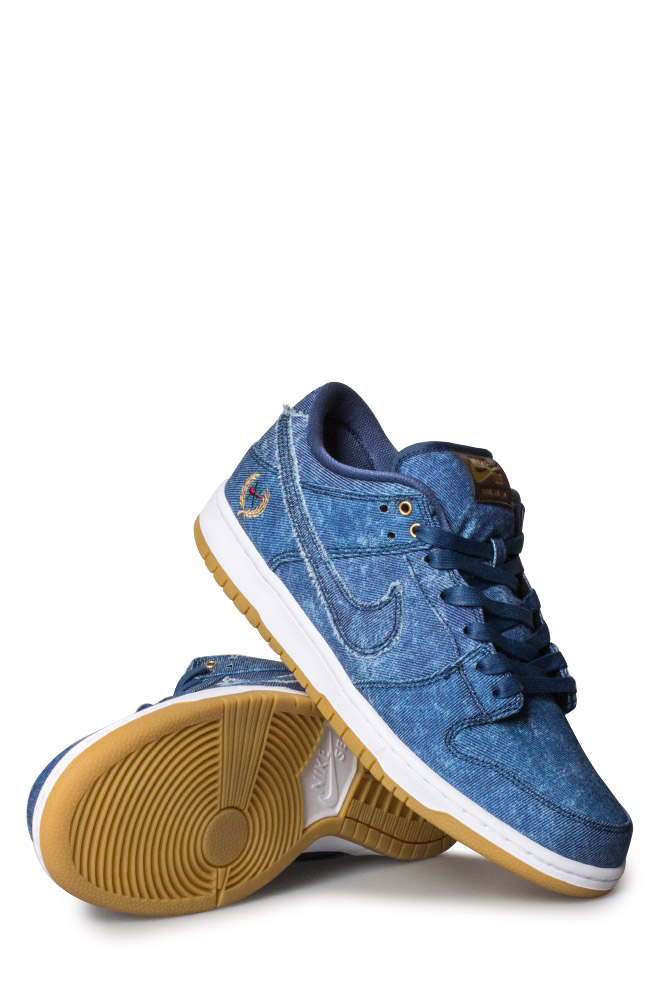 newest e05e4 a16ad Nike SB Dunk Low Pro TRD QS Shoe (Biggie) Utility Blue - Bonkers