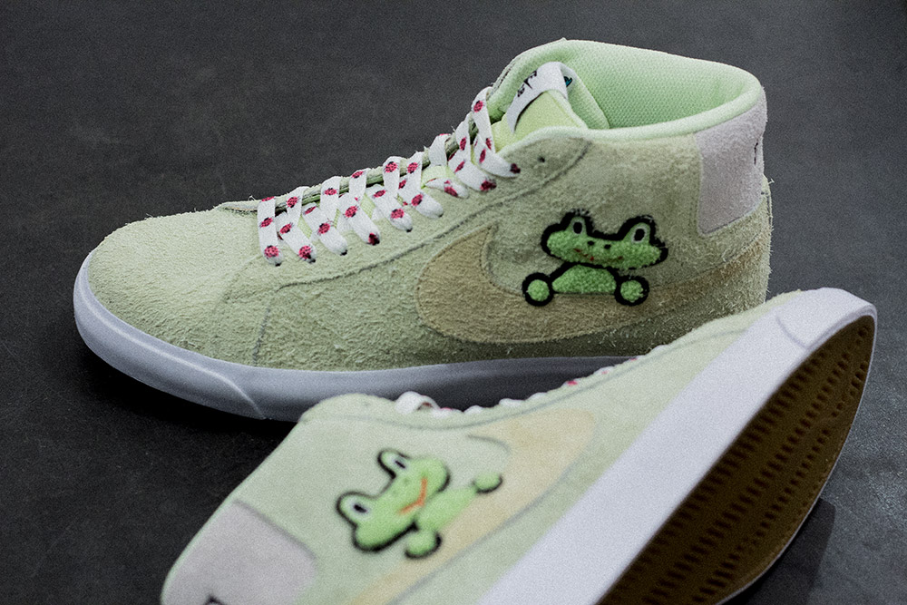 Nike SB X Frog Skateboards Blazer Mid