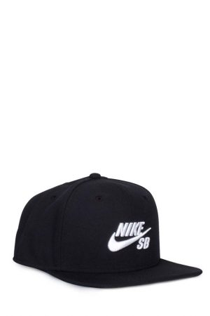 100% high quality for whole family a few days away Nike SB - Icon Snapback Black - Bonkers
