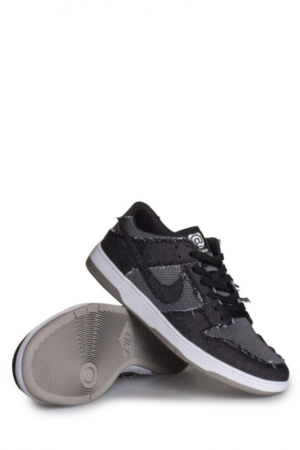 100% authentic 9bf50 0491c Nike SB X Medicom Toy Zoom Dunk Low Elite QS (BERBRICK) Shoe BlackWhite Medicom Grey - Bonkers