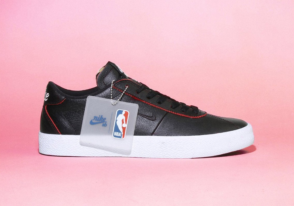 Nike SB X NBA Wear-Away Leather Pack • Bonkers