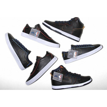 competitive price 5a783 eb774 Nike SB X NBA Wear-Away Leather Pack
