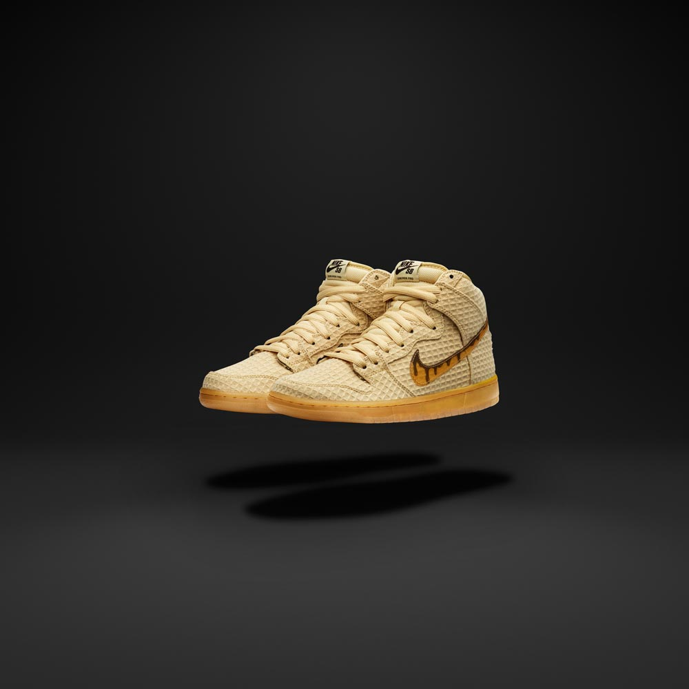 """new concept af046 1fecd The Nike SB Dunk High Premium """"Waffle"""" will be available from April 2nd."""
