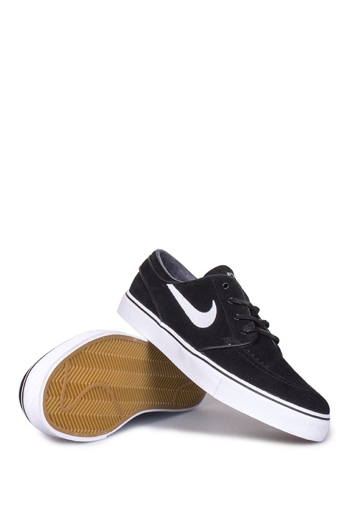 the best attitude 8ff8e 85b78 Nike SB Zoom Stefan Janoski OG Shoe Black White Gum Light Brown - Bonkers