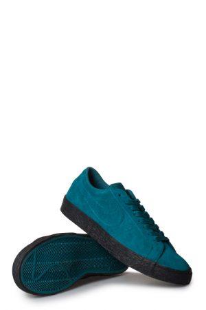 reputable site c6a53 c27ea Nike SB Zoom Blazer Low Schuh Dunkel Turquoise Schwarz