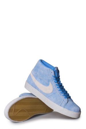 27433131cfd7 Nike SB Zoom Blazer Mid Shoe (Lance Mountain) University Blue Light Bone