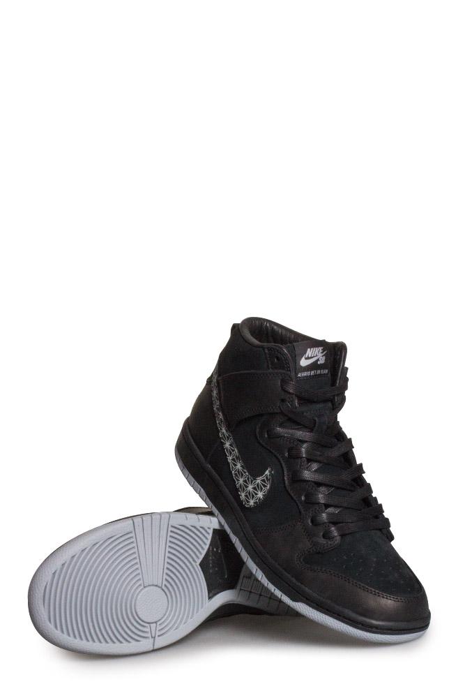 the best attitude 7a700 89c42 Nike SB Zoom Dunk High Pro QS Shoe (Bar Black) Black Black Wolf Grey -  Bonkers