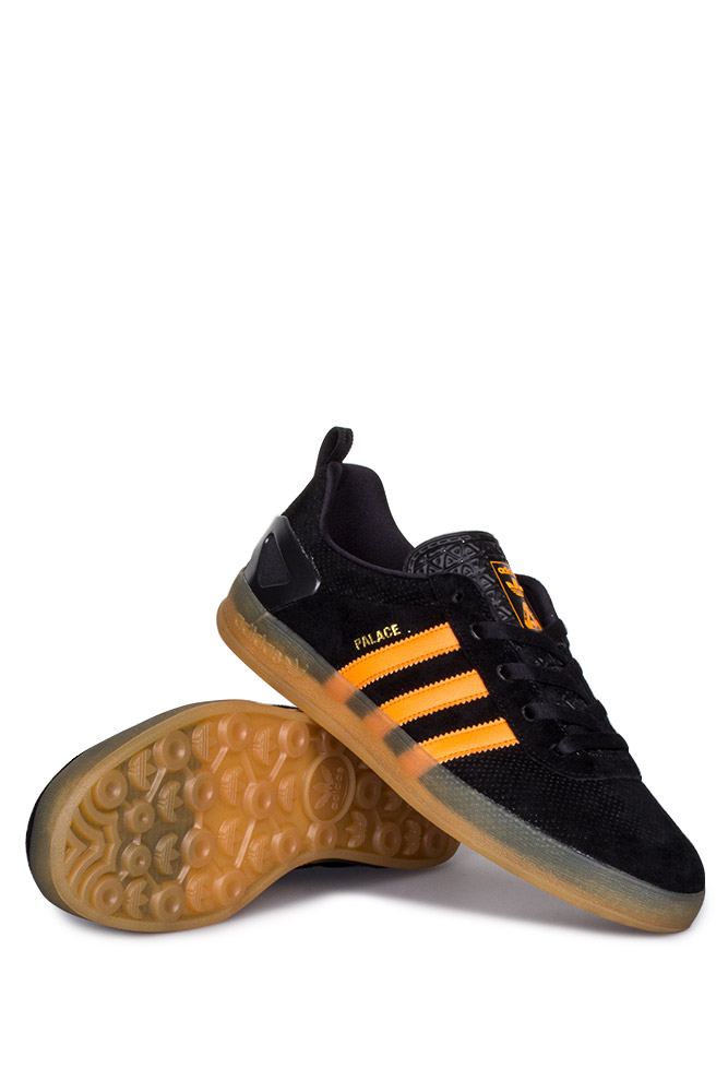 bb127ecbe63f Palace X Adidas Palace Pro Shoe Core Black Bright Orange Gum - Bonkers