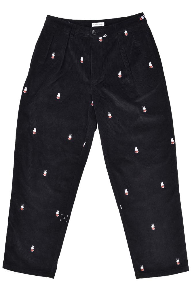 pop-trading-company-miffy-suit-pants-black-01