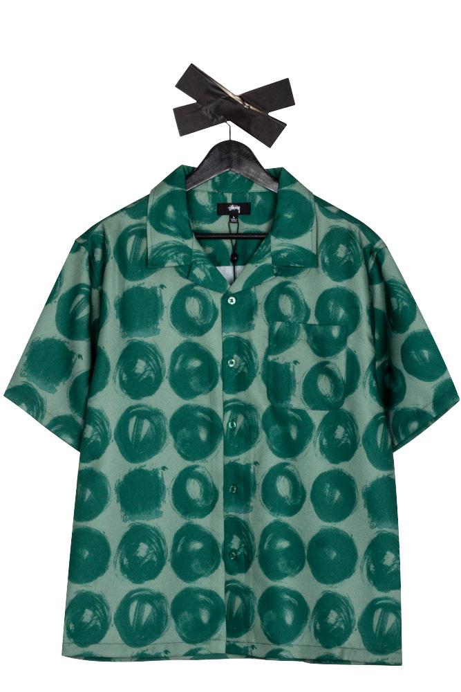 stussy-hand-drawn-dot-shirt-green-01