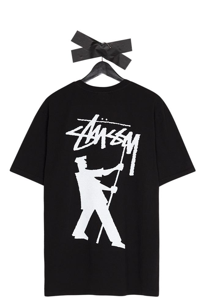 stussy-painter-pigment-gefaerbtes-t-shirt-schwarz-01