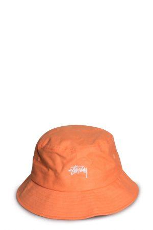 ec2930c71b6ac5 Stussy Stock Applique Bucket Hat Peach