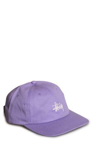 6386569b9a58d2 Stussy Stock Low Pro 6 Panel Cap Lavender