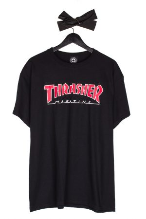 thrasher-outlined-logo-t-shirt-black