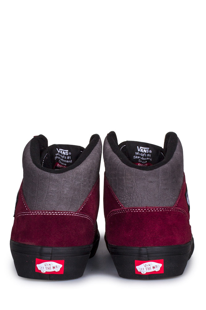 Vans Full Cap Pro 50th 89 Burgundy Gray Bonkers Shop
