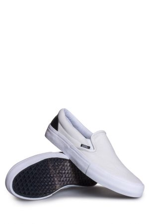 6ee531deda Vans X Octagon Slip-On Pro Shoe True White Black