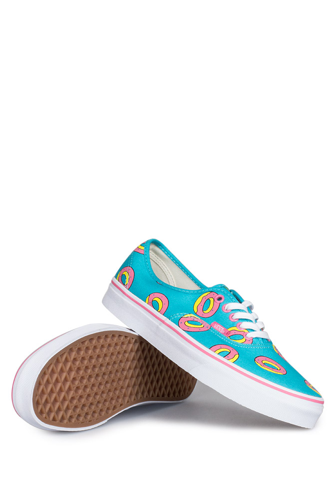 218af7e8917a Vans X Odd Future Authentic (OF Donut) Scuba Blue - Bonkers