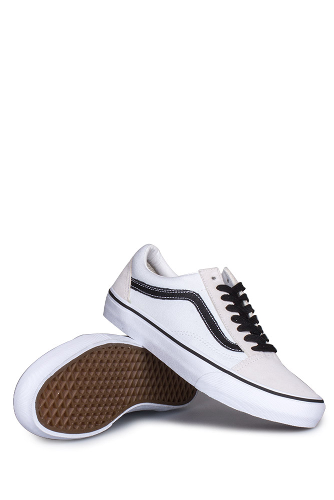 vans old skool white black