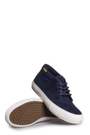 e52d30a773c Vans X Pop Trading Company Chukka Pro Shoe Navy Blazer Marshmallow