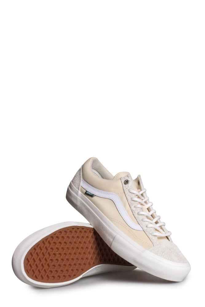 ba21971dd2 Vans X Pop Trading Company Style 36 Pro Shoe Turtledove Marshmallow ...