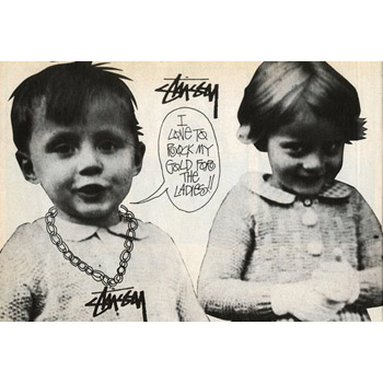 WELCOME STUSSY